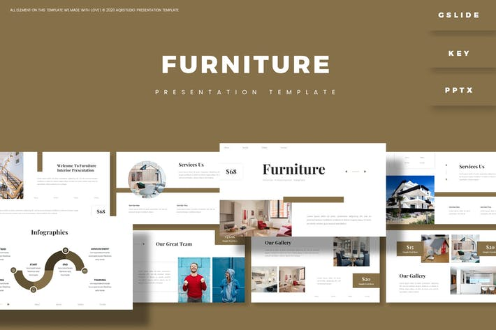 Thumbnail for Furnitures - Presentation Template