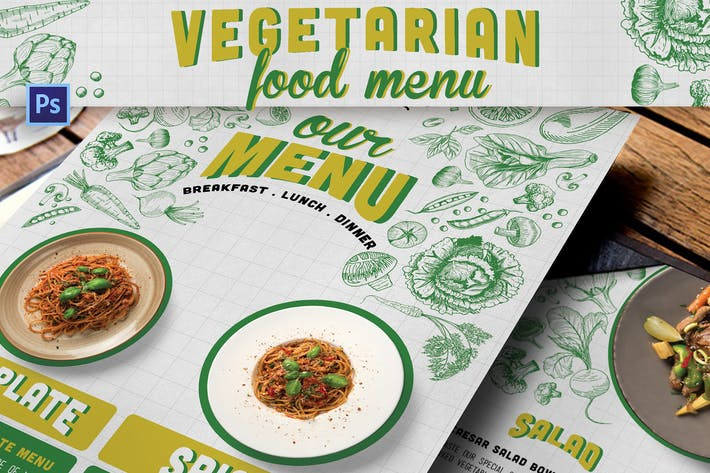 Thumbnail for Vegetarian Food Menu