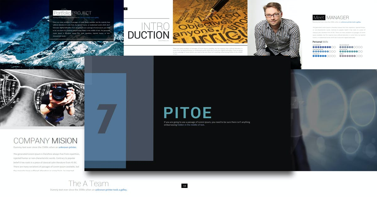 Download Pitoe - Powerpoint Template by Artmonk