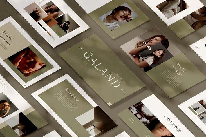 Thumbnail for Galand Google Slides