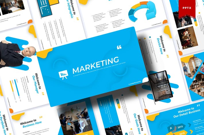 Thumbnail for Marketing | Powerpoint Template