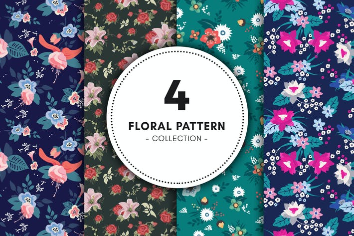 Thumbnail for Floral Pattern Collection