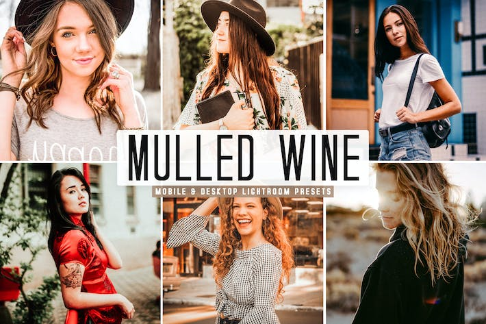 Thumbnail for Mulled Wine Mobile & Desktop Lightroom Presets