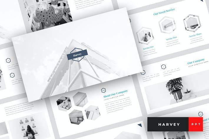 Thumbnail for Harvey - Creative PowerPoint Template