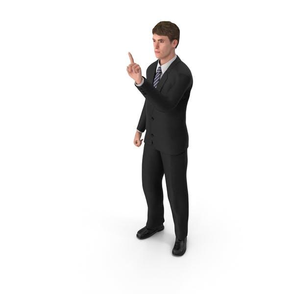 Thumbnail for Businessman John Attention