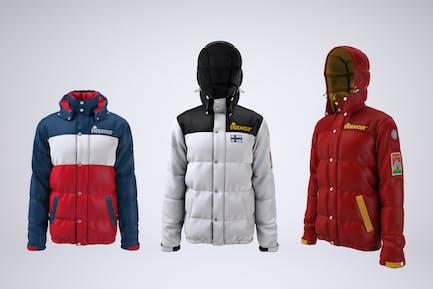 Puffer Jacket Mock-up