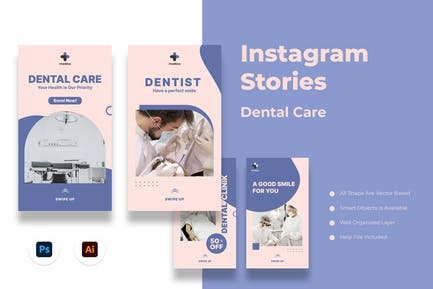 Dental Care Instagram Stories