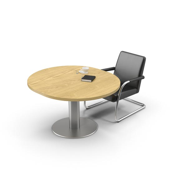 Cover Image for Round Desk