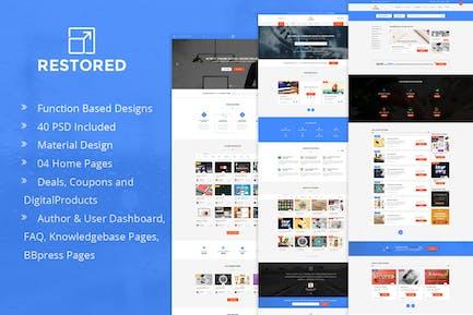 Restored - Marketplace for Easy Digital Downloads