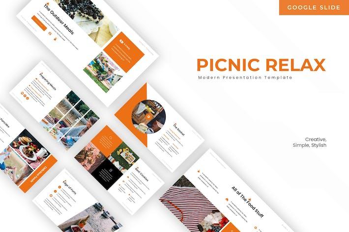 Picnic Relax - Google Slide Template