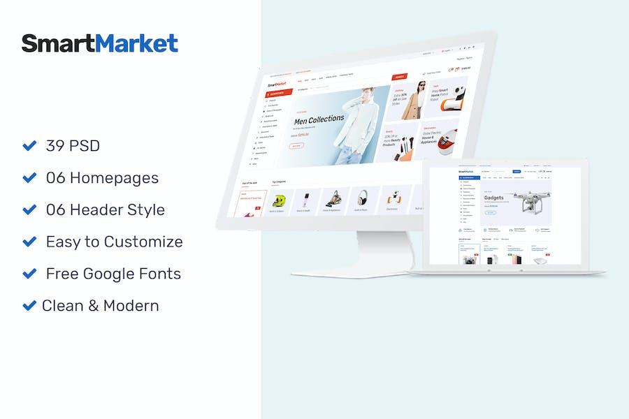SmartMarket   Multipurpose Electronics eCommerce P