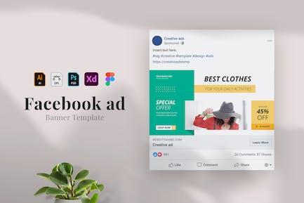 Fashion - Publicité Facebook 26