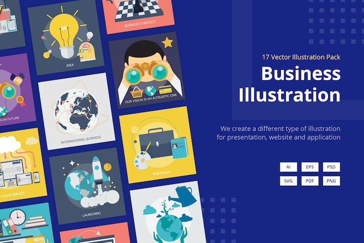 Thumbnail for Business Vector Illustration