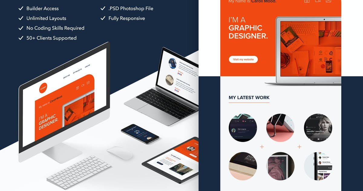 Download Classy - Responsive Email + Themebuilder Access by RocketWay