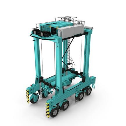 Hybrid Straddle Carrier