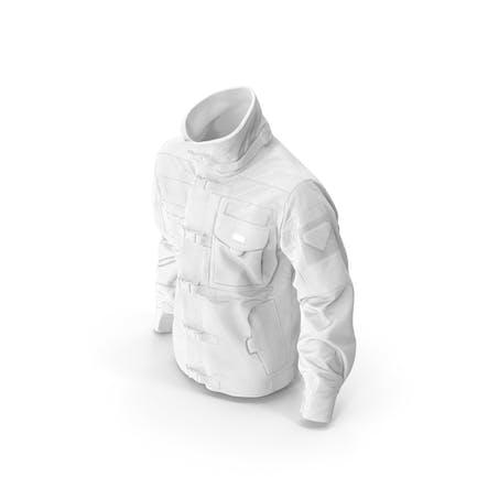 Black SWAT Jacke Weiß