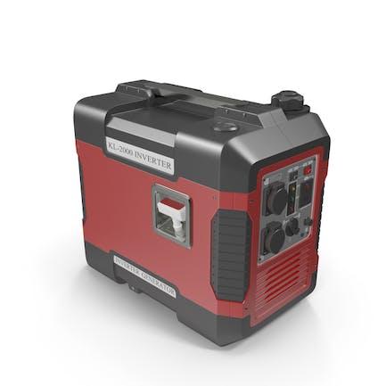 Portable Generator Red
