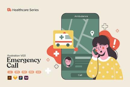 Healthcare V03 Emergency Medical Call