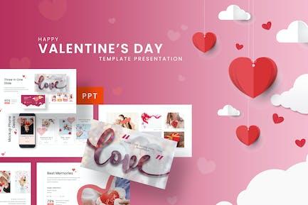 Happy Valentine - Romantic Powerpoint Template
