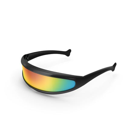 Futuristic Cyclops Shield Sunglasses