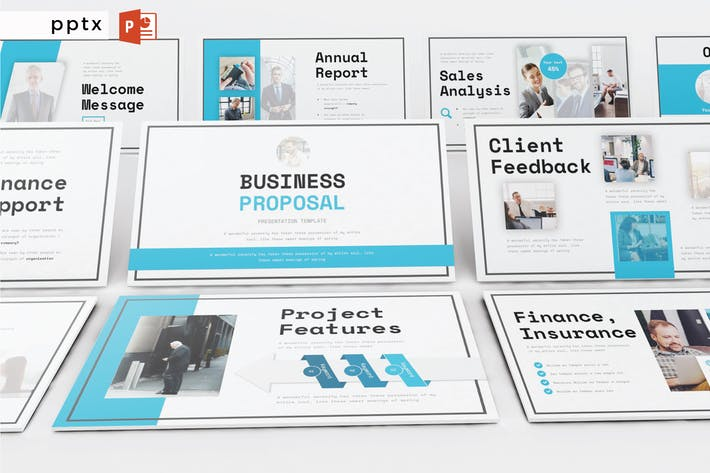 Thumbnail for BUSINESS PROPOSAL - Powerpoint  V299