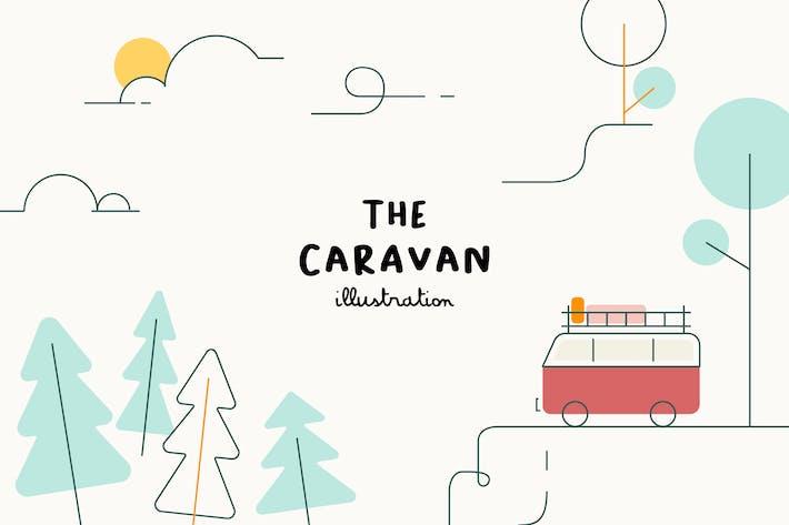 Thumbnail for ILLUSTRATION - The Caravan