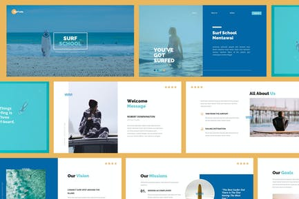 Surfing Powerpoint Presentation