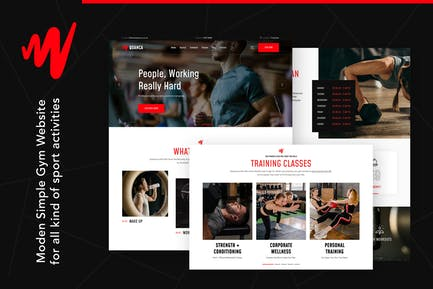 Quanca | Premium Gym Club HTML Template