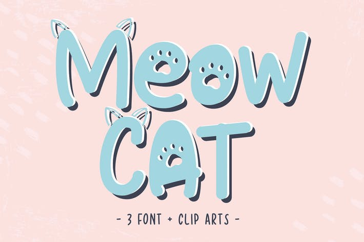 Thumbnail for Cat Meow Font