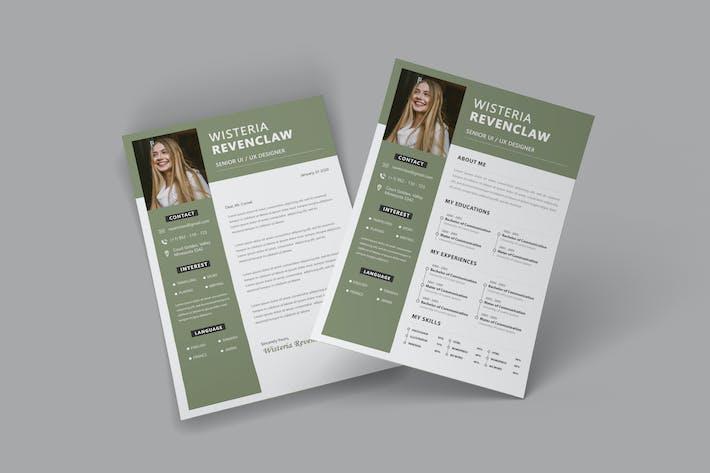 Thumbnail for Minima CV Resume