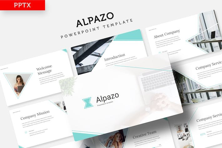 Thumbnail for Alpazo - Power Point template