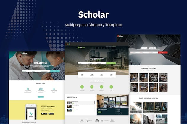 Scholar - Multipurpose Directory Template - product preview 4