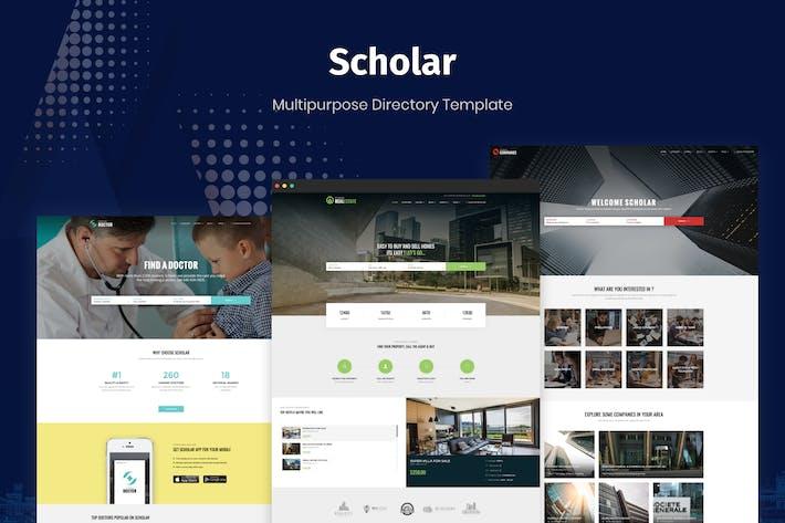 Thumbnail for Académico - Plantilla de directorio multipropósito