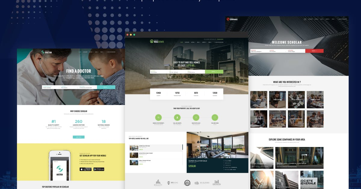 Download Scholar - Multipurpose Directory Template by redqteam