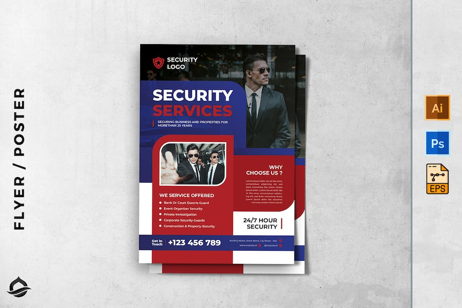 Security company flyer