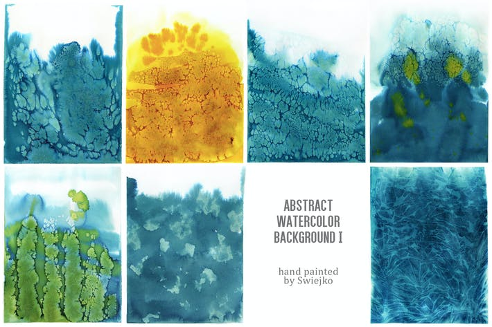 Cover Image For Abstract Watercolor Background I