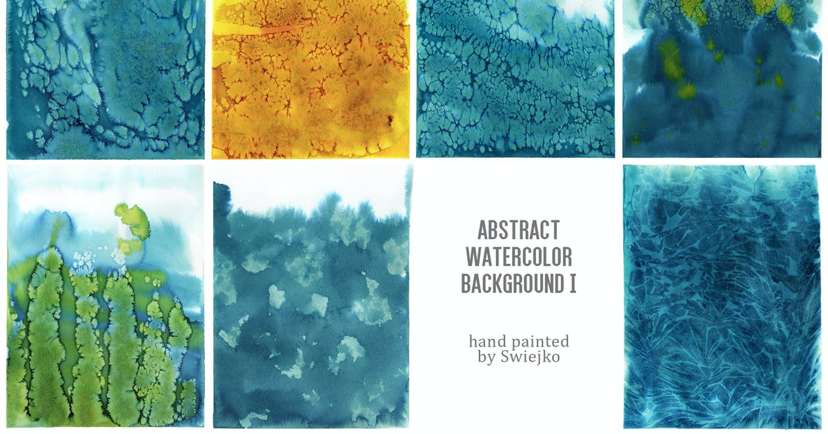 Download Abstract Watercolor Background I by swiejko