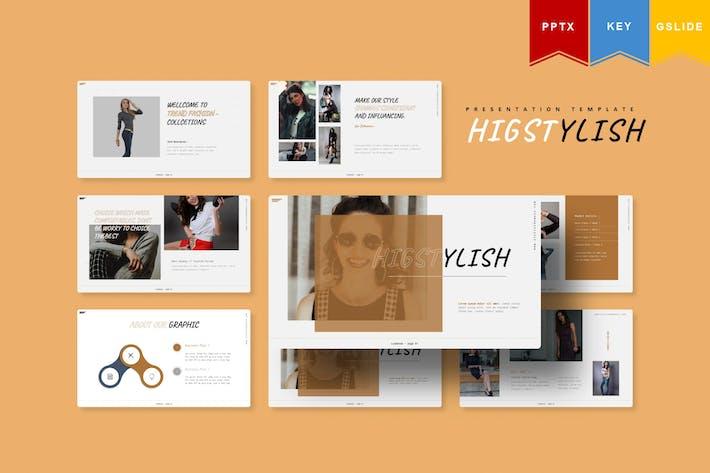 Higstylish | Powerpoint, Keynote, Googleslides