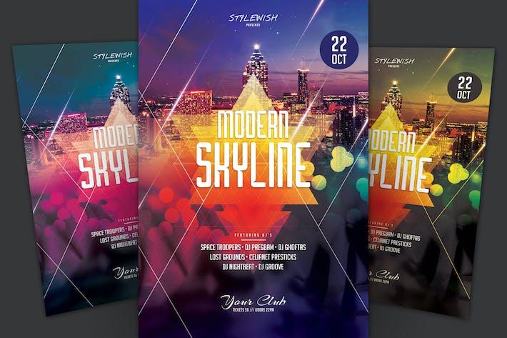 Cover Image For Modern Skyline Flyer