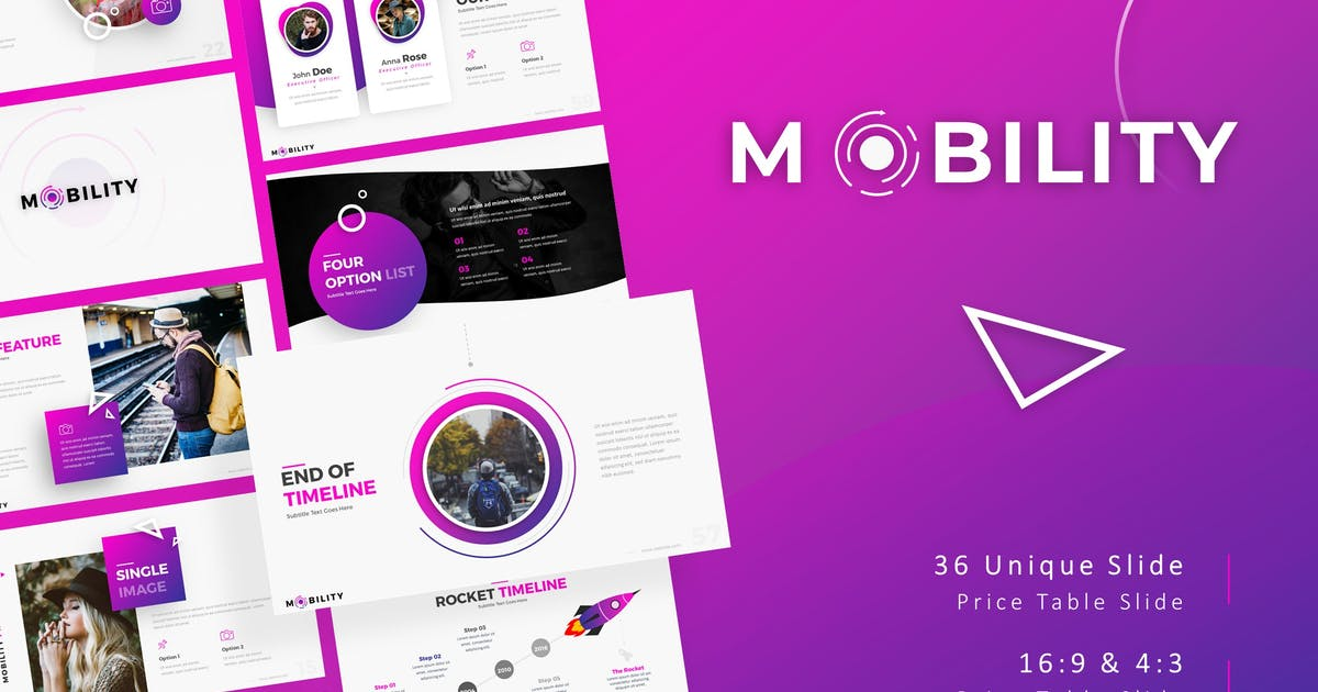 Download Mobility - Creative Presentation Template by RRgraph