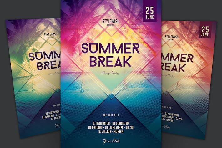 Thumbnail for Summer Break Flyer