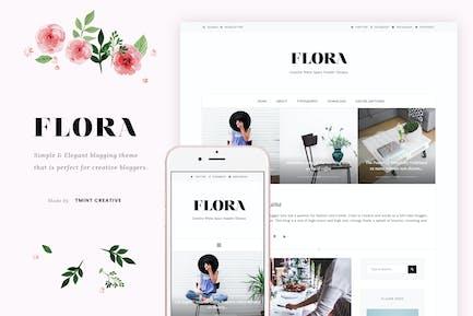 Flora - Thème Blogging élégant