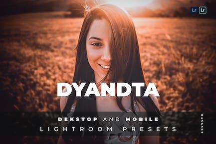 Пресет Dyandta для настольных и мобильных устройств Lightroom