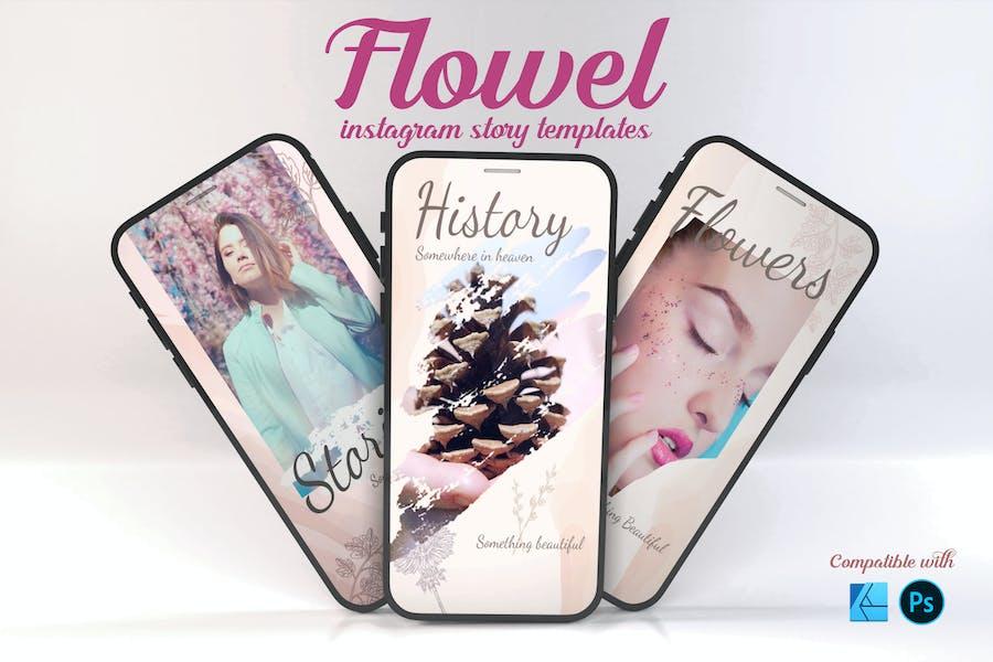 Flowel | Instagram Story Template