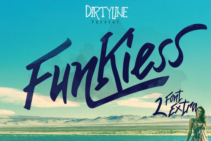 Thumbnail for Funkiess Display typeface