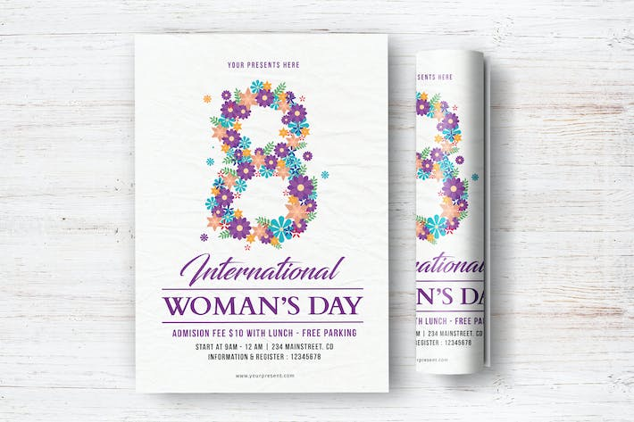 Thumbnail for Woman's Day Flyer