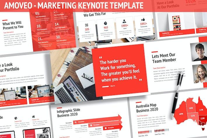 Thumbnail for Amoveo - Marketing Keynote Template