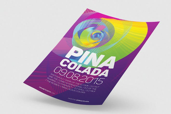 Thumbnail for Pina Colada Flyer / Poster