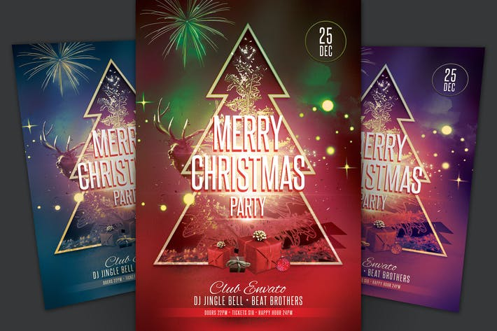 Thumbnail for Merry Christmas Party Flyer
