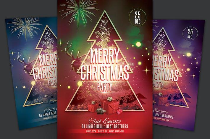 Thumbnail for Веселая Рождественская вечеринка Флаер